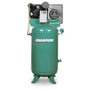 Champion V series air compressor.