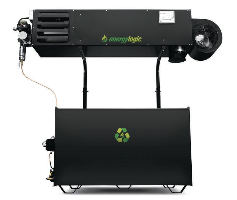 Waste Oil Heaters & Boilers